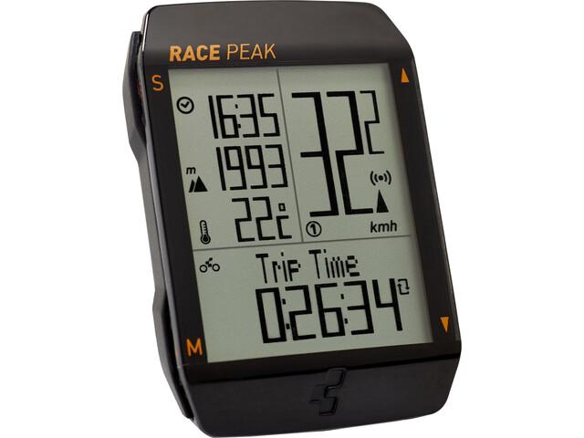 Cube Race Peak Cykelcomputer, sort